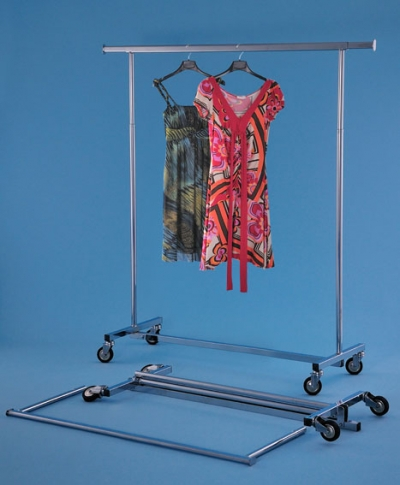 Mobiler Garderobenständer Svelto Chrom