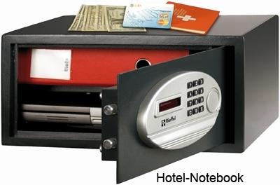 Hotelzimmertresore HOTEL-Notebook