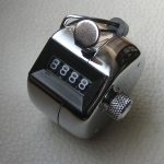 Mechanischer Zähler - Handmodell